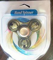Спінер кольорові фиджет-спиннер вертушка крутилка для рук метал