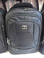 Мужской рюкзак для ноутбука черный прочный опт и розница
