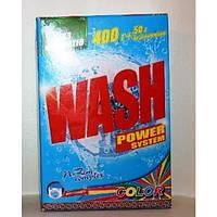 Порошок стиральный автомат колор 450г Wash