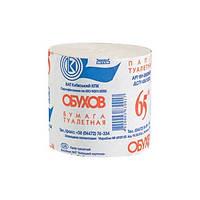 Бумага туалетная макулатурная Обухов 48 рул/ящ