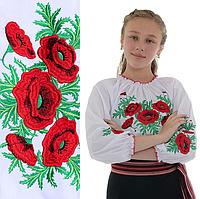 """Блузки для девочек """"Соломия"""" от 7 до 12 лет"""