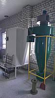 Камера напыления порошковой краски на циклоне