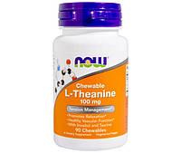 L-теанин L-Theanine 100 mg (90 veg caps)