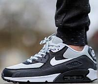 Купить кроссовки найк Nike Air Max 90 Grey Mist 3 от магазина tehnolyuks.prom.ua 099-4196944