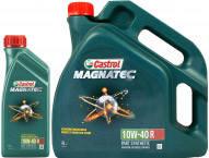 Моторное масло Castrol Magnatec 10W-40 4л