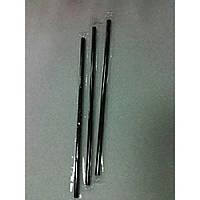 Соломка черная прямая в индивидуальной бумажной упаковке 210 мм., 200 шт/уп