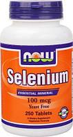 NOWСелениумSelenium 100 mcg (250 tab)
