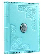 Ежедневник кожаный А5 с камнем Яшма