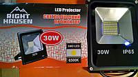 Прожектор светодиодный, 30 Вт, 6500 К, IP65, Right Hausen