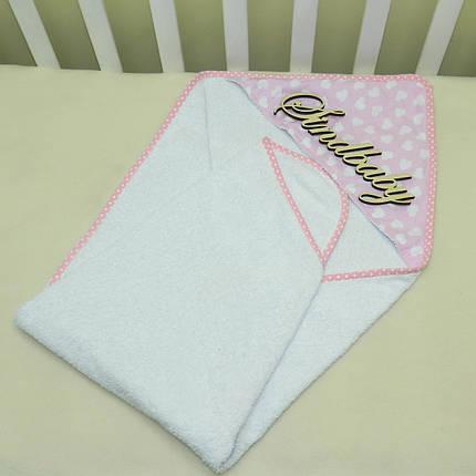 Детское махровое полотенце с уголком - 01, фото 2