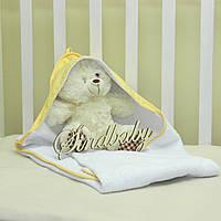 Детское махровое полотенце с уголком - 04