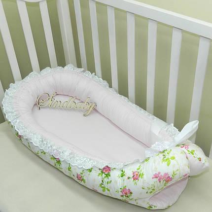 Гнездышко кокон позиционер для новорожденного BabyNest - 01, фото 2