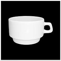 Чашка фарфоровая 90 мл. для эспрессо FARN, белая