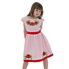 Вышитое платья девочке с маками от 4 до 13 лет, фото 3