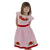 Вышитое платья девочке с маками от 4 до 13 лет, фото 2