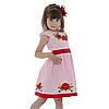 Вышитое платья девочке с маками от 4 до 13 лет, фото 4
