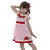 Вышитое платья девочке с маками от 4 до 13 лет, фото 5