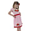 Вышитое платья девочке с маками от 4 до 13 лет, фото 6