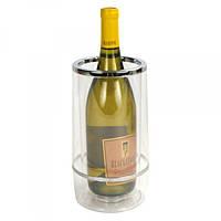 Кулер для вина 11,3 см.х22 см. акриловый