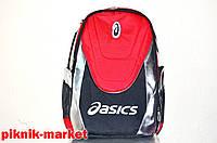 Рюкзак спортивный  ASICS (красный, синий)