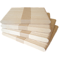Палочки для мороженого деревянные 114х10х2 мм., 10000 шт.