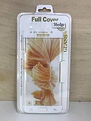 Защитное 3D стекло для Samsung G925 (S6 Edge) (White)