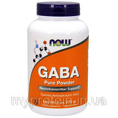 NOW Гамма аминомасляная кислота GABA (170 g)