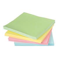 Блок статической бумаги для записей Axent 75x75мм 100 листов жёлтый (2448-01-A)