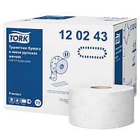 """Бумага туалетная 2 слоя, 170 м. """"Tork Premium"""" белая"""