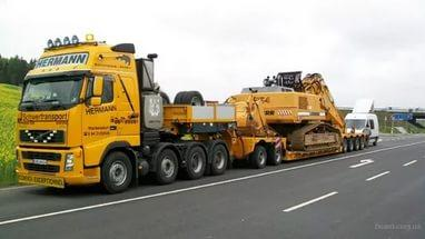 Перевозка негабаритных грузов в Донецке
