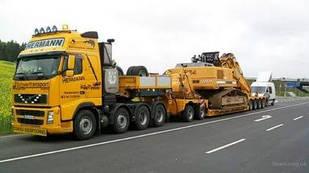 Перевозка негабаритных грузов в Броварах