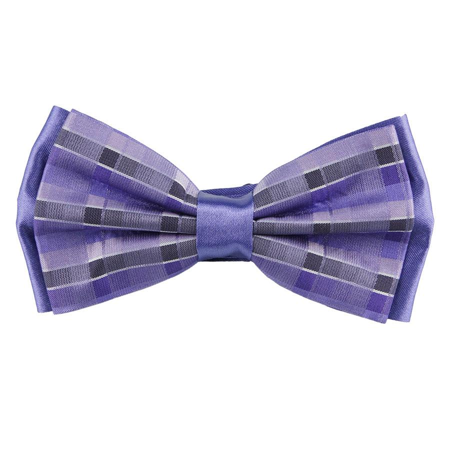 Мужская фиолетовая бабочка 060С