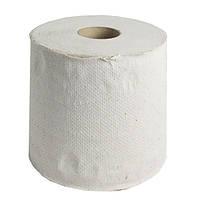 Полотенце бумажное макулатура в рулоне 1 слой 100 метров без перфорации
