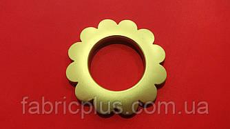 """Люверс  """" Ромашка """"  (Беладонна)  ф = 6,5х3,5 см  золото"""