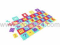 Коврик Пазлы для детей (Алфавит) 36 деталей