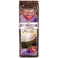 Капучино Hearts  Amaretto   капучино амаретто 1 кг Германия  опт 5-10 шт растворимый