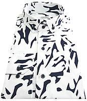 Рубашка мужская приталенная  в принт №12-30 SF  - 2262/4  , фото 1