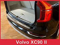 Накладка на бампер с загибом Volvo XC90 2