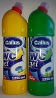 WC Gallus для мытья  унитаза - гель Gallus  1250 мл Галус оптом ящик 10 шт