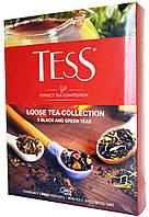 """Чай листовой Tess """"Коллекция 9 вкусов черного и зеленого чая"""" 355г."""