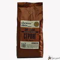 Кофе в зернах Gurmans Choice КАФЕ КРЕМА Стронг арабика 70 % 1кг