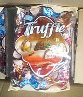 Шоколад Truffle шоколадые конфеты 1 кг Трюфель оптом коробка 8шт  в упаковці мікс смаків є роздріб