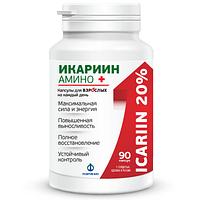 Препарат Икариин Амино для повышения тестостерона (90 капсул)