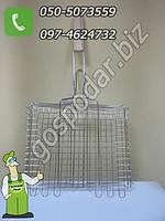 Решетка для гриля и барбекю 25 х 31 см., мини решетка для гриля