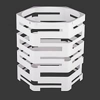 Фуршетная база шестигранник d30хh30 белая