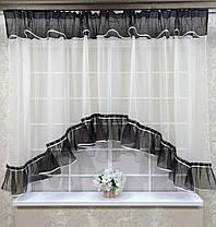 """Тюль-сетка арка """"Рита"""", кухонные шторы, фото 2"""