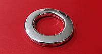 Люверс  пластик (0304)  серебро  ф = 35 мм