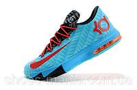Баскетбольные кроссовки Nike Zoom KD 6 blue