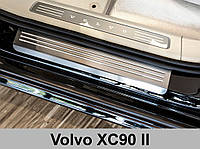 Накладки на пороги Volvo XC90 2