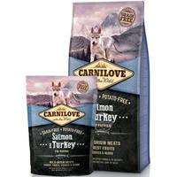 Сухой корм Carnilove Puppy Salmon & Turkey для щенков. Беззерновой 12 кг.